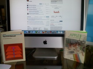 30 years of Apple products. Thanks Steve & Steve (and mom and dad).